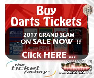 Buy Darts Tickets.