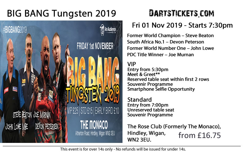 Darts Düsseldorf Tickets