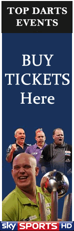 Buy PDC Premier League Darts Tickets 2015.