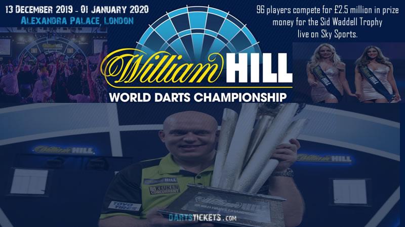 Ally Pally Darts Tickets 2020