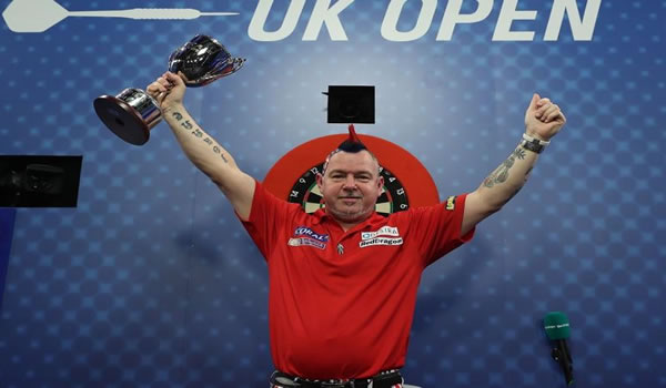 Peter Wright Winner 2017.
