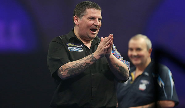 Gary Anderson PDC World Champion Winner 2015.