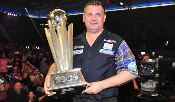 Gary Anderson PDC World Champion Winner 2016.