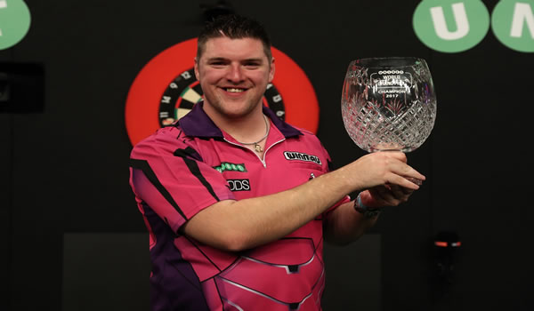 Daryl Gurney Grand Prix Darts Winner 2017.