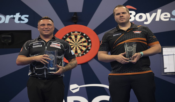 Gerwyn Price Grand Prix Darts Winner 2020.