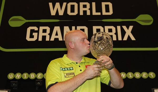 MVG Grand Prix Darts Winner 2016.