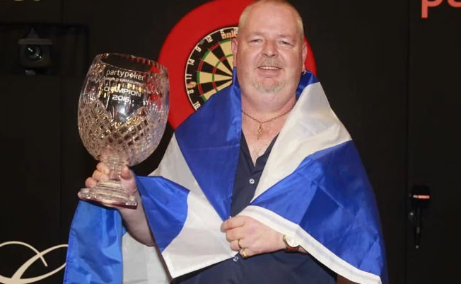 Robert Thornton Grand Prix Darts Winner 2015.