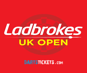 UK Darts Open Butlins Minehead.